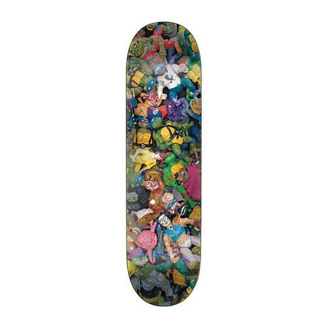 "Santa Cruz x TMNT Toys Everslick 8.0"" Skateboard Deck"