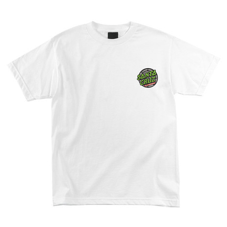 Santa Cruz x TMNT Sewer Dot T-Shirt - White