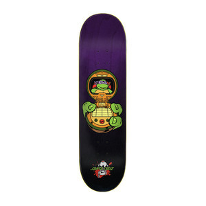 "Santa Cruz x TMNT Donatello 8.125"" Skateboard Deck"