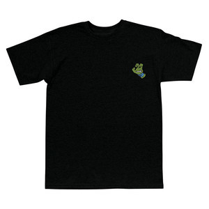 Santa Cruz x TMNT Turtle Hand T-Shirt - Black / Blue