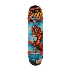"Santa Cruz x Marvel Iron Man Hand 7.25"" Complete Skateboard"