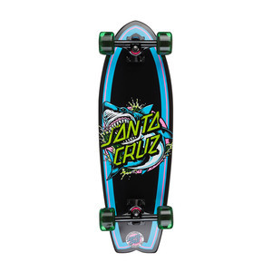 "Santa Cruz Shark Dot Landshark 8.8"" Cruiser Skateboard"