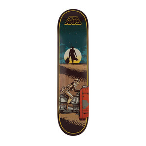 "Santa Cruz x Star Wars Episode VII Rey 7.8"" Skateboard Deck"