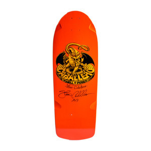 "Powell-Peralta Bones Brigade 7th Series 10.0"" Skateboard Deck - Signed by Steve Caballero"
