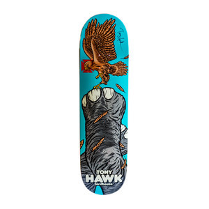"Birdhouse Fowl 8.125"" Skateboard Deck - Signed by Tony Hawk"