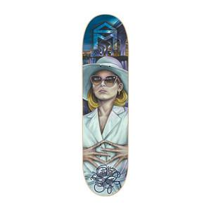 "Sk8Mafia Face Gray 8.38"" Skateboard Deck"