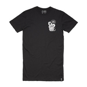 Skelter King Brown Tall T-Shirt - Black
