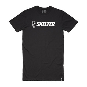 Skelter Logo Tall T-Shirt - Black