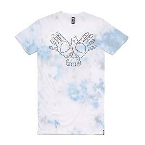 Skelter Skullifly Tall T-Shirt - Tie-Dye