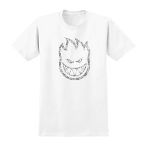 Spitfire Bighead Paisley T-Shirt - White