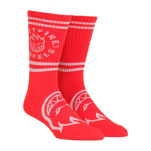 Spitfire Classic Bighead Socks - Red/White