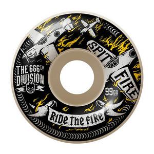 Spitfire Crash and Burn 55mm Skateboard Wheels