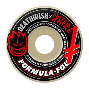 Spitfire x Deathwish Formula Four 99D Skateboard Wheels