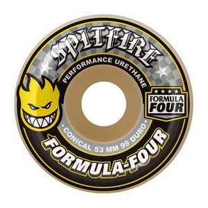 Spitfire Conical Formula Four 99D Skateboard Wheels