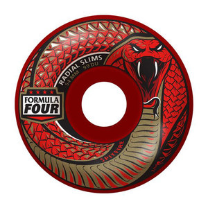 Spitfire Red Death Formula Four 99D Skateboard Wheels