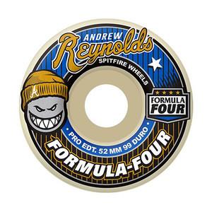 Spitfire Reynolds Formula Four 51mm 52mm 53mm 99D Skateboard Wheels