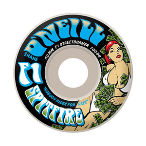 Spitfire O'Neill Streetburner Grass 50mm Skateboard Wheels