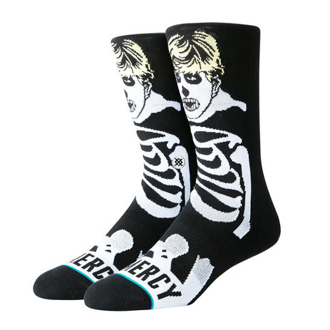 Stance No Mercy Crew Socks - Black