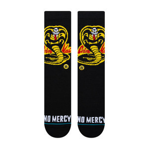 Stance Cobra Kai Crew Socks - Black