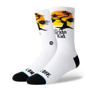 Stance Karate Kid Crew Socks - White
