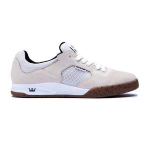 Supra Avex Skate Shoe — White/Gum