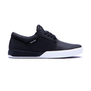 Supra Hammer Skate Shoe — Black/White
