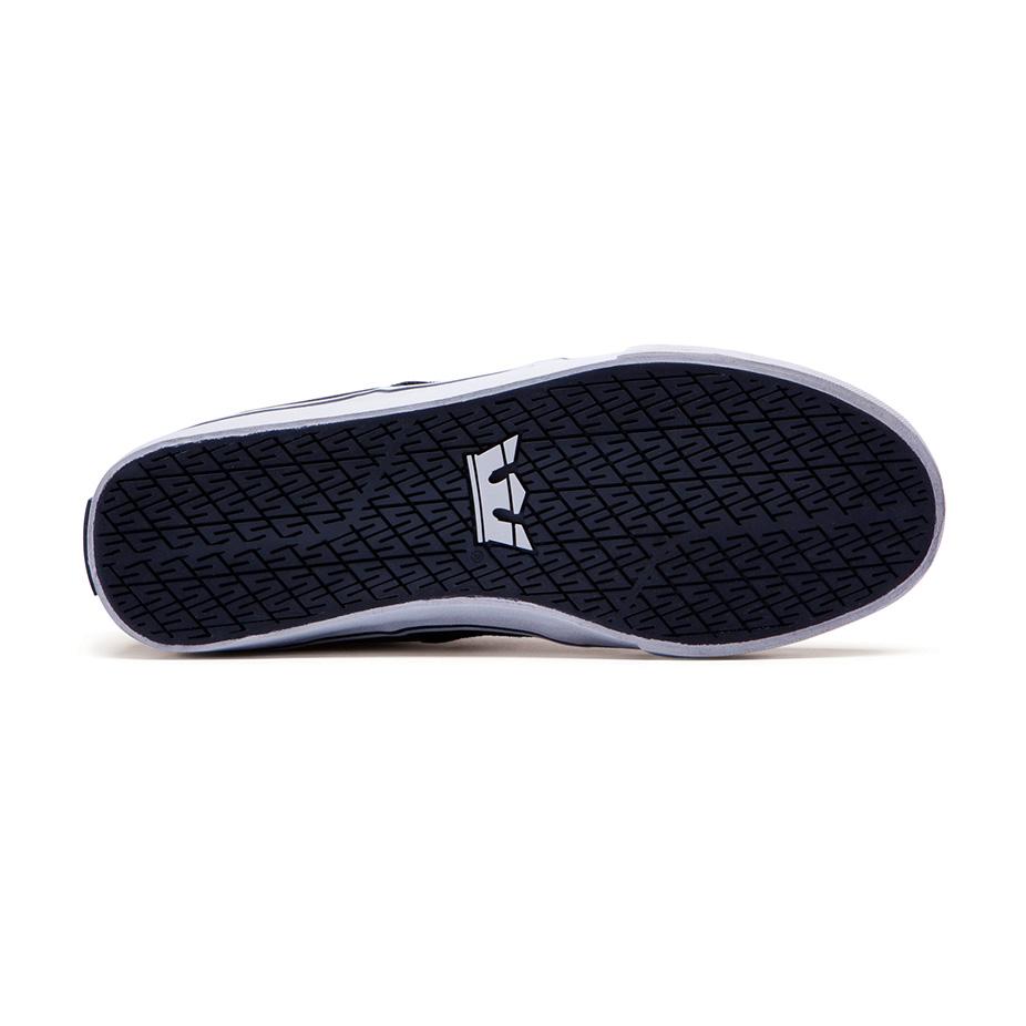 Supra Stacks Vulc II Skateboard Shoe — Black Grey . 27cf96bc1