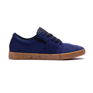 Supra Stacks II Skateboard Shoe — Navy/Gum