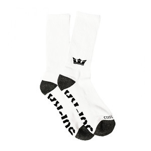 Supra Coolmax Socks - White/Black