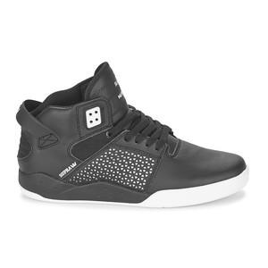 Supra Skytop III Skate Shoe – Black/White