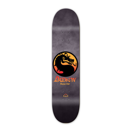 "Thank You Dragon 8.25"" Skateboard Deck - Signed by Daewon Song"