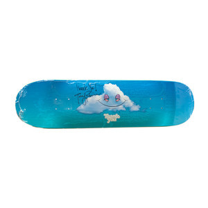 """Thank You Head In The Clouds 8.25"""" Skateboard Deck - Signed by Torey Pudwill"""