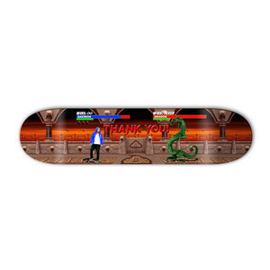 "Thank You Daewon Kombat 8.0"" Skateboard Deck"
