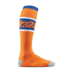ThirtyTwo Arvin Snowboard Socks — Orange