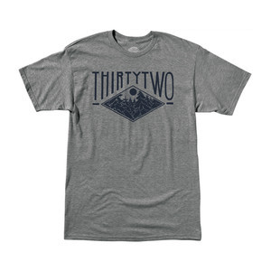 ThirtyTwo Moonridge T-Shirt — Grey/Heather