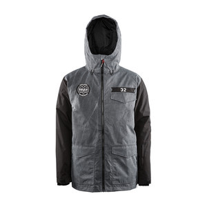 ThirtyTwo Sesh Men's Snowboard Jacket — Stain Black
