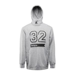 ThirtyTwo 32 Stamp Men's Pullover Hoodie - Grey/Heather