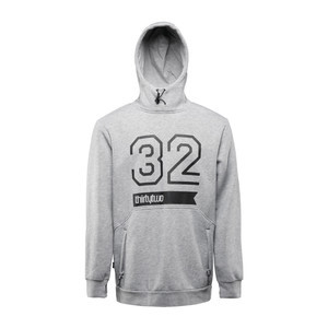ThirtyTwo 32 Stamp Men's Pullover Hoodie - Grey/Heather
