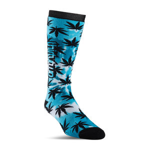 ThirtyTwo Reverb Snowboard Sock - Black/Blue