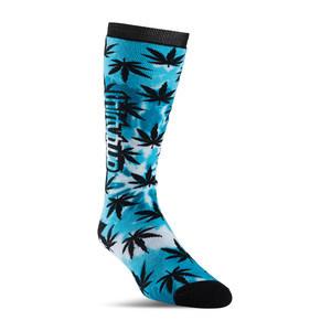 ThirtyTwo Reverb Snowboard Sock - Black/Blue