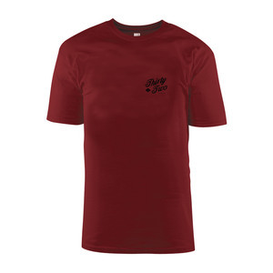 ThirtyTwo Skripto T-Shirt - Maroon