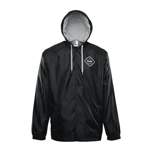 ThirtyTwo Sorren Hooded Coaches Jacket - Black