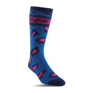 ThirtyTwo Merced Women's Snowboard Sock - Blue