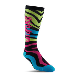 ThirtyTwo Metrix Women's Snowboard Sock - Neon