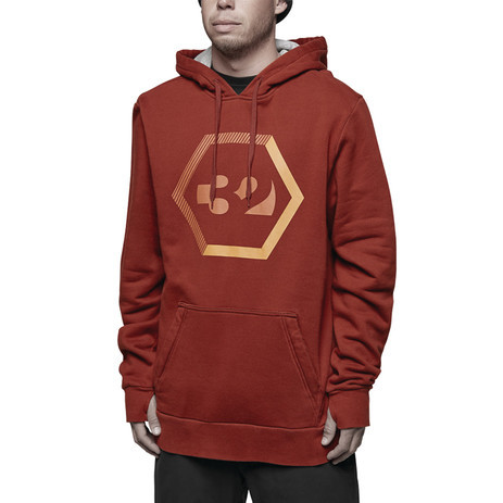 ThirtyTwo Marquee DWR Hoodie - Oxblood