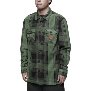 ThirtyTwo Rest Stop Polar Fleece Shirt - Forrest