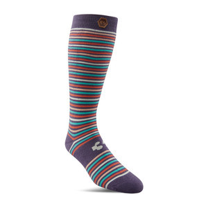 ThirtyTwo Cherry Bomb Women's Snowboard Sock - Black