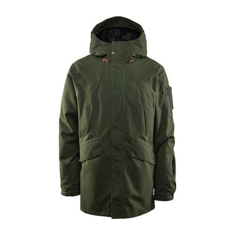 ThirtyTwo Deep Creek Snowboard Jacket 2019 - Military