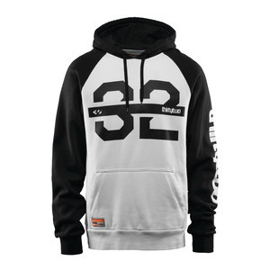 ThirtyTwo Marquee DWR Hoodie 2019 - White