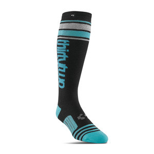 ThirtyTwo Stripe Women's Snowboard Sock - Black